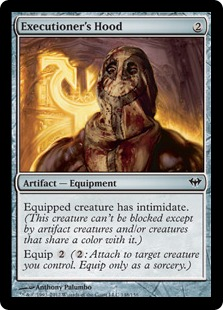 Executioner's Hood Magic Card