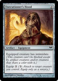 Executioner's Hood Magic Card