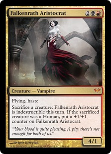 Falkenrath Aristocrat Magic Card
