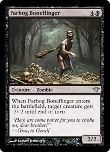 Farbog Boneflinger Magic Card