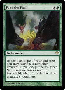Feed the Pack Magic Card