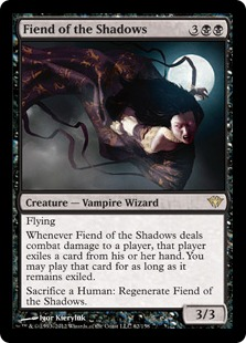 Fiend of the Shadows Magic Card