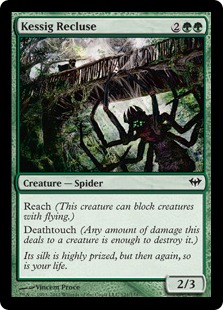 Kessig Recluse Magic Card