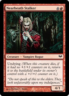 Nearheath Stalker Magic Card