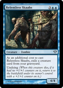 Relentless Skaabs Magic Card