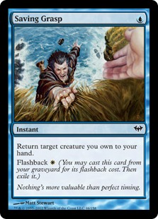 Saving Grasp Magic Card