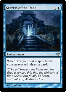 Secrets of the Dead Magic Card
