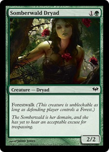 Somberwald Dryad Magic Card