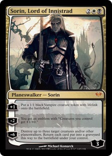 Sorin, Lord of Innistrad Magic Card