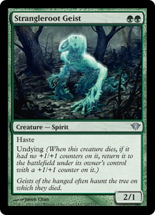 Strangleroot Geist Magic Card