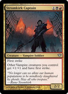Stromkirk Captain Magic Card