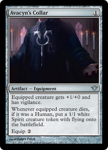 Avacyn's Collar Magic Card