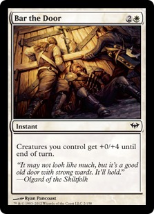 Bar the Door Magic Card