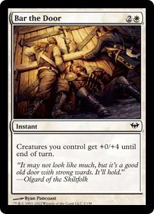 Bar the Door Magic Card