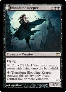 Bloodline Keeper Magic Card