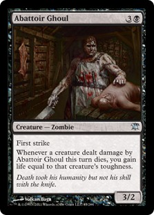Abattoir Ghoul Magic Card