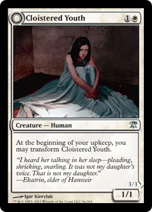 Cloistered Youth Magic Card
