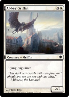 Abbey Griffin Magic Card