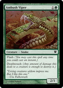 Ambush Viper Magic Card