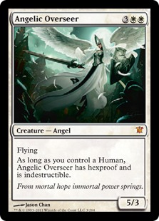 Angelic Overseer Magic Card