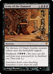 Army of the Damned Magic Card