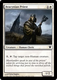 Avacynian Priest Magic Card