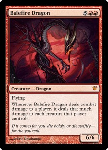 Balefire Dragon Magic Card