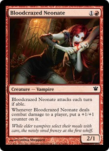 Bloodcrazed Neonate Magic Card