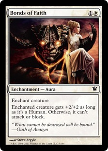Bonds of Faith Magic Card