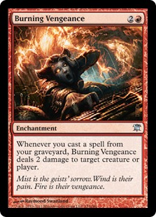 Burning Vengeance Magic Card