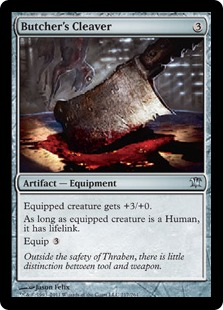 Butcher's Cleaver Magic Card