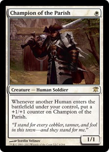 Champion of the Parish Magic Card