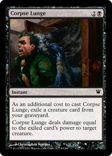 Corpse Lunge Magic Card