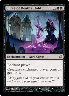 Curse of Death's Hold Magic Card