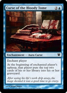 Curse of the Bloody Tome Magic Card