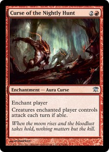 Curse of the Nightly Hunt Magic Card