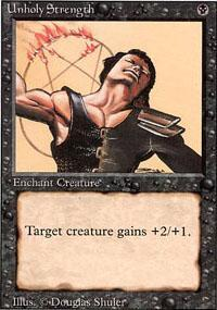 Unholy Strength Magic Card