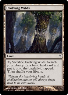 Evolving Wilds Magic Card