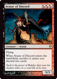 Avatar of Discord Magic Card