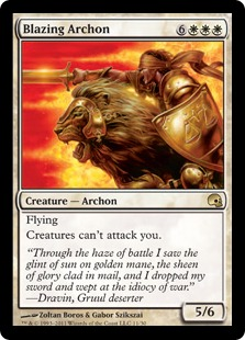 Blazing Archon Magic Card