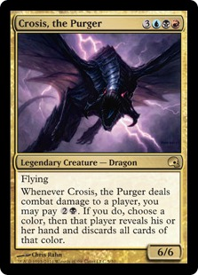 Crosis, the Purger Magic Card