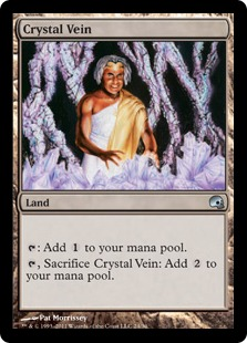 Crystal Vein Magic Card