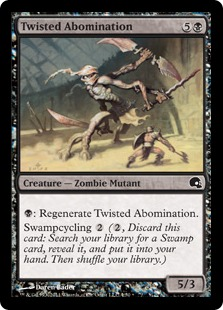 Twisted Abomination Magic Card