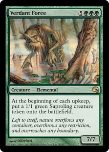 Verdant Force Magic Card