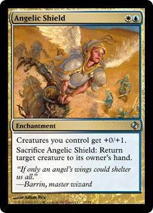 Angelic Shield Magic Card
