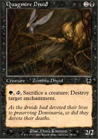 Quagmire Druid Magic Card