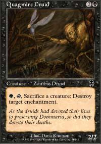 Quagmire Druid Magic Card