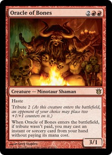 Oracle of Bones Magic Card