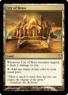 City of Brass Magic Card