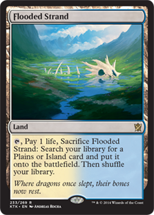 Flooded Strand Magic Card